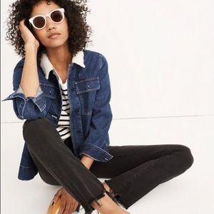 Madewell Cali Demi Jeans - Destructed Hem Edition